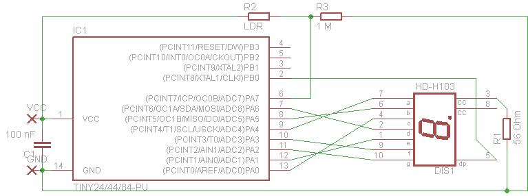 7 Segment Grundversion
